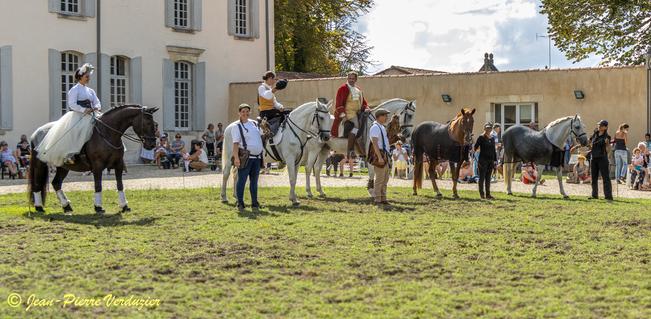 spectacle équestre event'arts chateau bastor lamontagne 2020