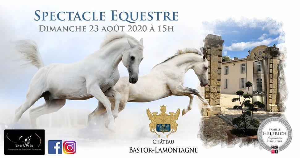 Affiche Spectacle Bastor Lamontage 2020.