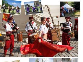 La compagnie Event'Arts sera présente pour la 37ème fête médiévale de Belves dans un des plus be