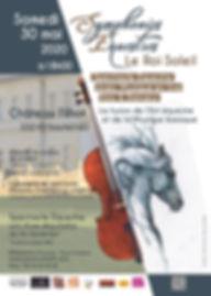 symphonies équestres au chateau filhot 2020