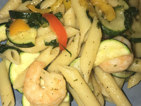 Cooking with Dana - Shrimp Penne Pasta