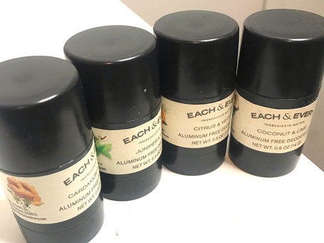 All Natural - Each & Every Deodorant