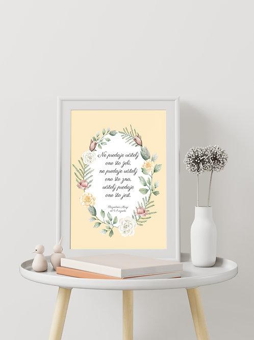 Poster FLOWER WREATH
