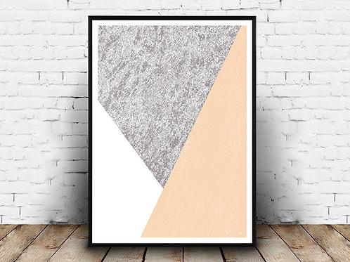 Poster za uređenje interijera ABSTRACT