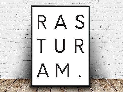 Poster za uređenje interijera RASTURAM