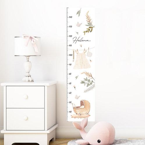 Naljepnica za mjerenje visine BABY GIRL