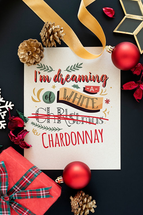 Prigodni poster CHARDONNAY