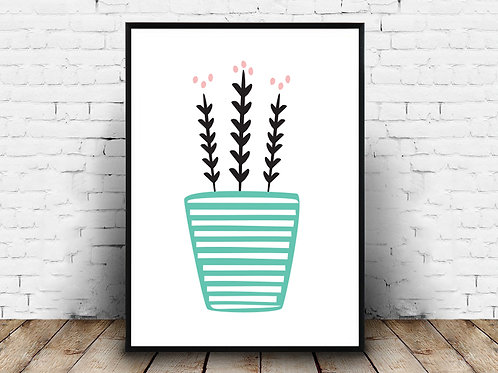 Ilustrirani poster PLANT