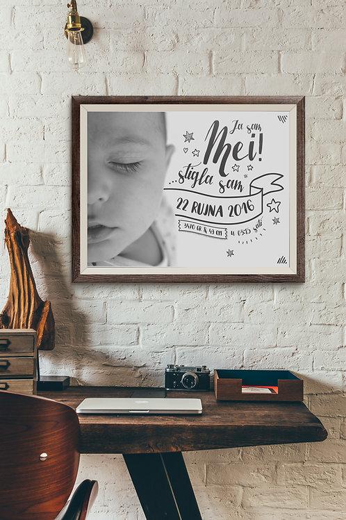 Poster s fotografijom MEI