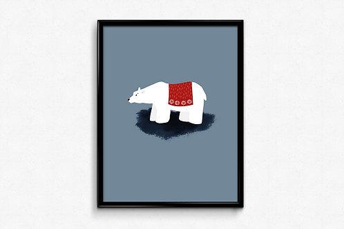 Prigodni poster Božić 2020 Bear