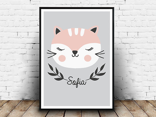 Ilustrirani poster KITTY