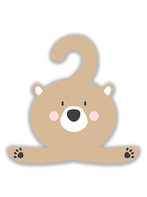 Personalizirana vješalica BEAR
