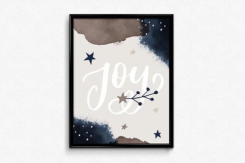 Prigodni poster Božić 2020 Joy