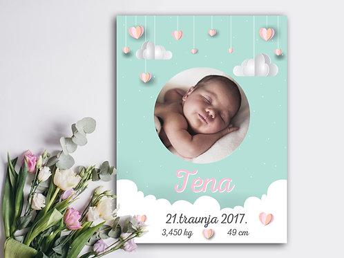 Poster s fotografijom LOVE