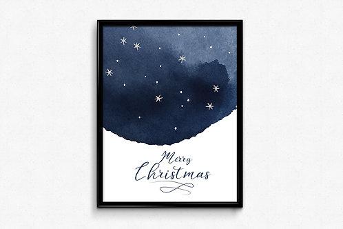 Prigodni poster Božić 2020 MerryChristmas