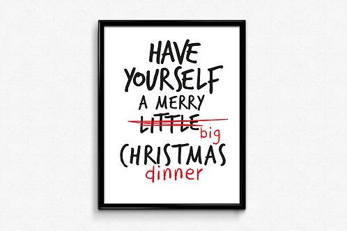 Prigodni poster Božić 2020 Dinner