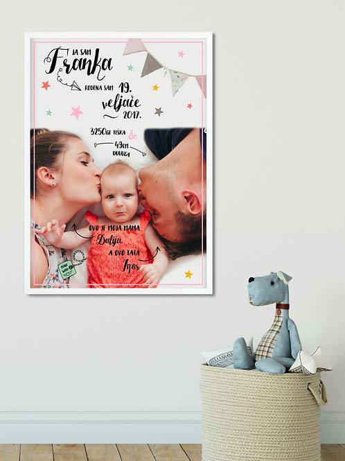 Poster s fotografijom MINI PRINT