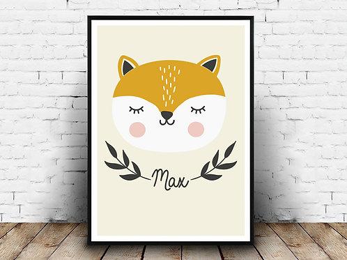 Ilustrirani poster FOX MAX