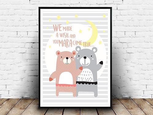 Poster Bear Mara