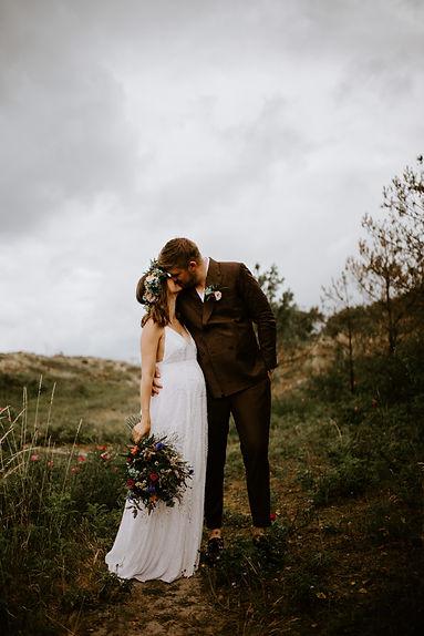 Bryllupsportrætter i naturen