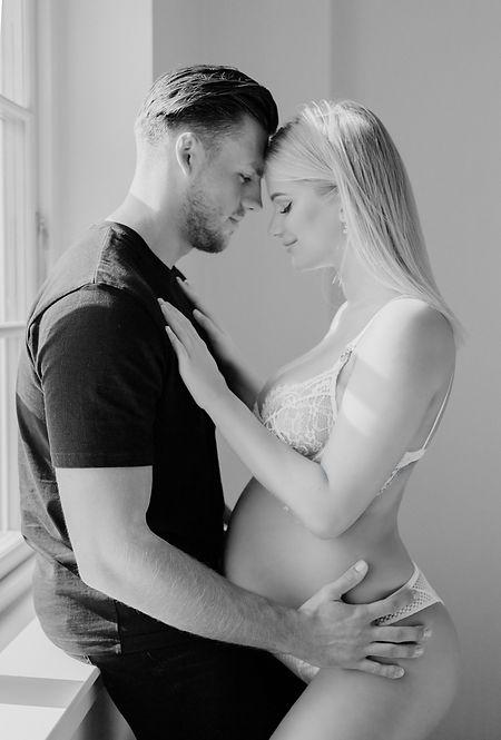 Frederikke Lykke gravidbilleder med Mathias