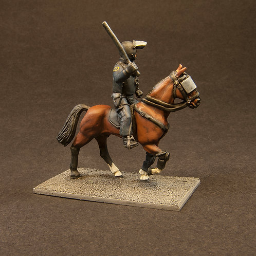 NFRP203: Riot Police - Mounted on Horses (3 figures)