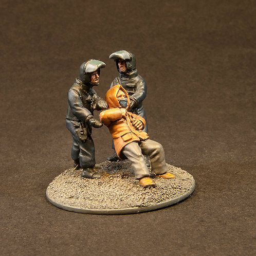 "NFRP204: Riot Police - ""Snatch & Support"" Team 2 (8 figures)"