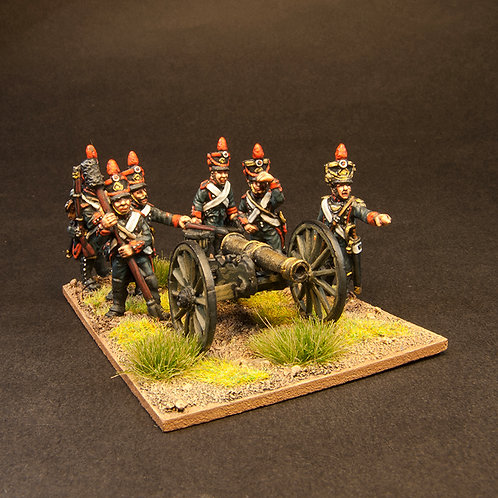 FNFR251: Early French Line Artillery - 12lb Btty & Crew (24 figures)