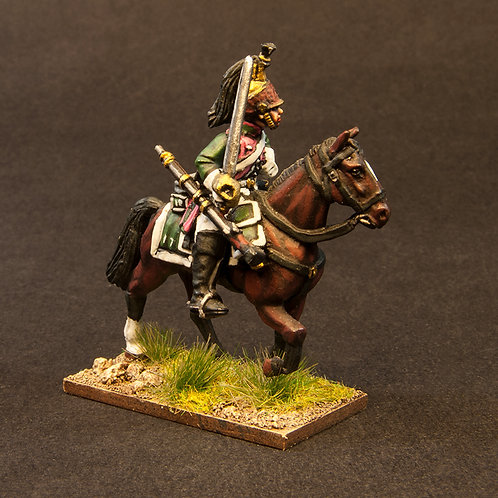 FNFR208: French Dragoons pre 1812 - Centre Company (3 figures)
