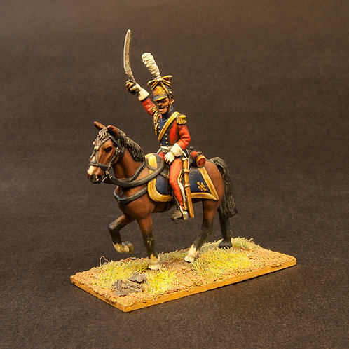 FNFR501: French Polish Lancers - Command (3 figures)