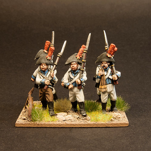 FNSP601: Spanish Line Infantry - Fusiliers (6 figures)
