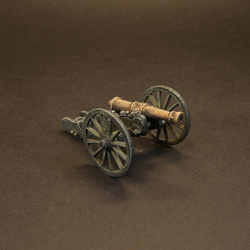 FNFR261: Early French Line Artillery - 8lb Gun & Crew (6 figures)