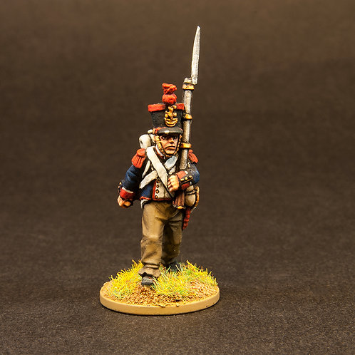 FNFR203: French Line Infantry 1807-12 - Flank Company (6 figures)