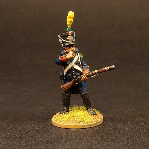 FNFR204: French Line Infantry 1807-12 - In Skirmish Order (6 figures)