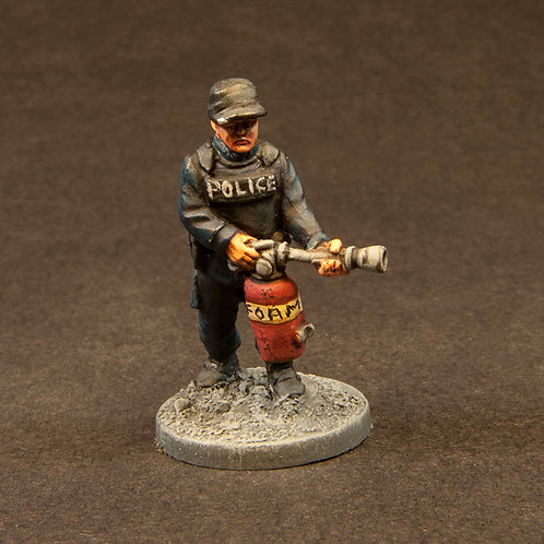 """NFRP206: Riot Police - """"Snatch & Support"""" Team 3 (6 figures)"""