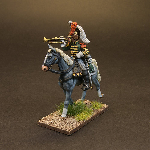 FNFR224: French Dragoons Post 1812 - Command (3 figures)