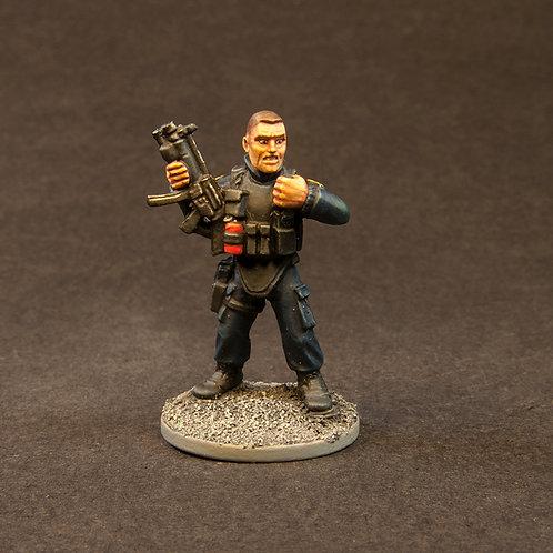 NFSW100: SWAT, Terrorists & Hostages - Set (24 figures) + 2 Freebies