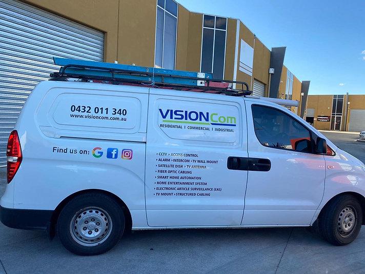 A visioncom vehicle