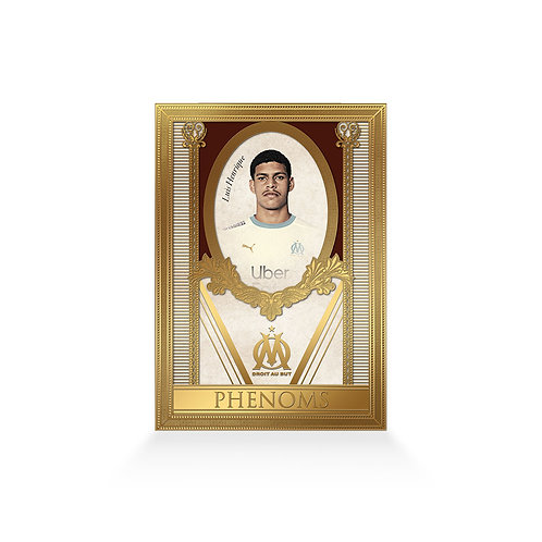 Luis Henrique Phenoms 24ct Gold Plated