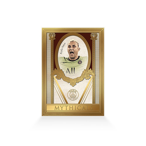 Keylor Navas Mythicals Gold Plated