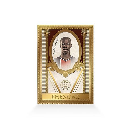 Bandiougou Fadiga Phenoms 24ct Gold Plated
