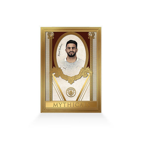 Riyad Mahrez Mythicals 24ct Gold Plated