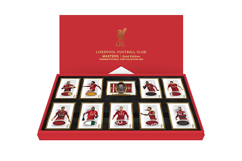 LIVERPOOL MASTERS Gold Edition I - Presentation Boxed Set