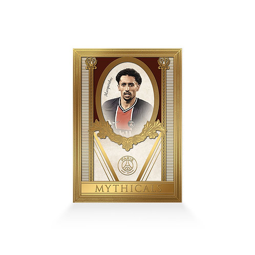 Marquinhos Mythicals Gold Plated