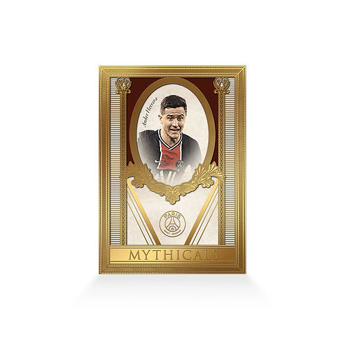 Ander Herrera Mythicals Gold Plated