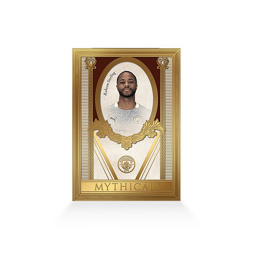 Raheem Sterling Mythicals 24ct Gold Plated