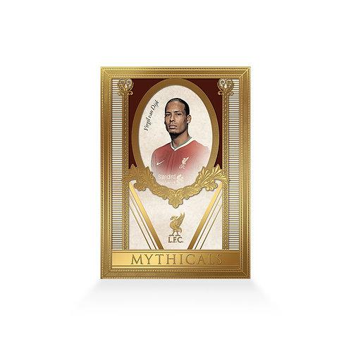 Virgil van Dijk Mythicals 24ct Gold Plated