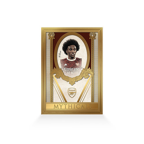 Willian Mythicals 24ct Gold Plated