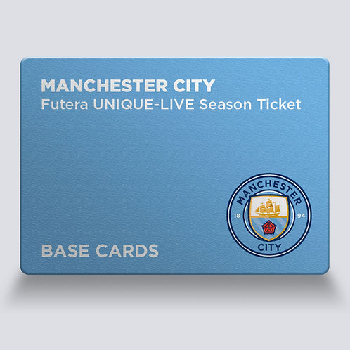 SEASON TICKET - Manchester City Moments Base Cards