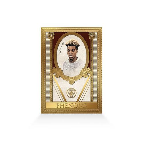 Felix Nmecha Phenoms 24ct Gold Plated Framed